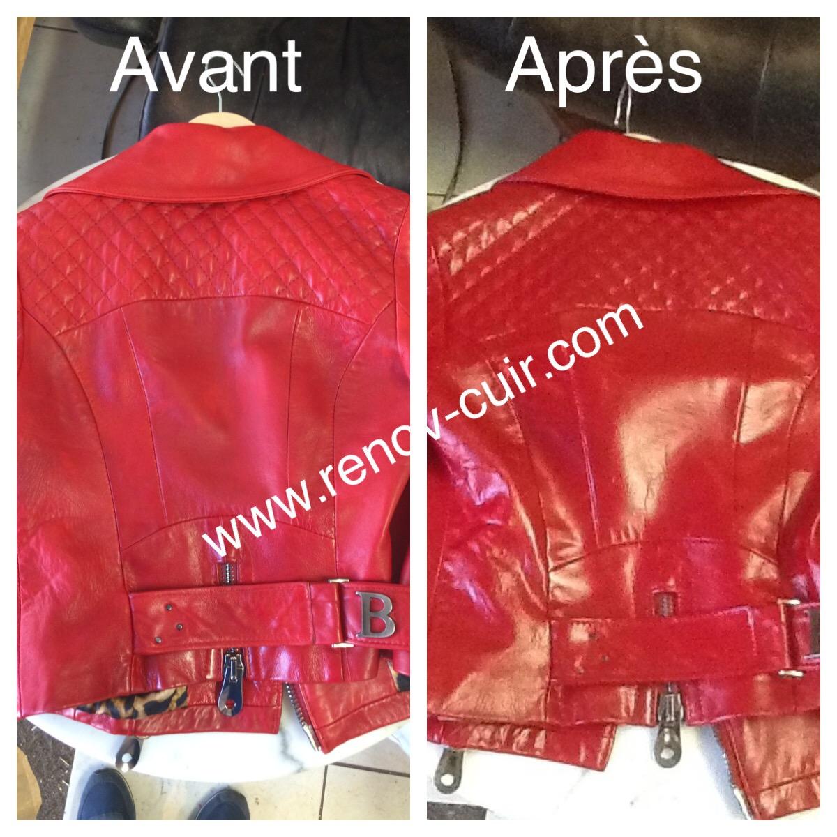 Renover veste en cuir